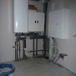 HTR nun mit Bauwasserhahn an der Zuleitung