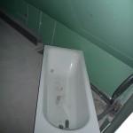 Die Badewanne von oben