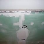 Unsere abgehängten Deckeninseln wurden um Quadratleisten und Eckschutzschienen erweitert
