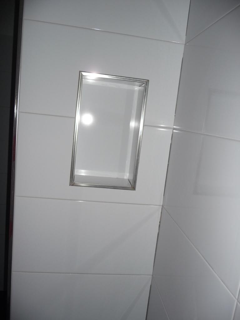 Anbei eines unserer Duschfächer - die sind richtig nett und hübsch geworden!
