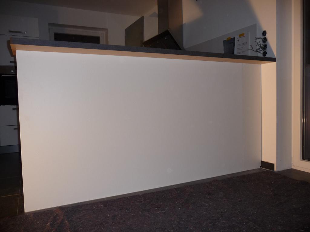 Tag 2 – die Küche steht, hier der Tresen | Jetzt wird gebaut ...
