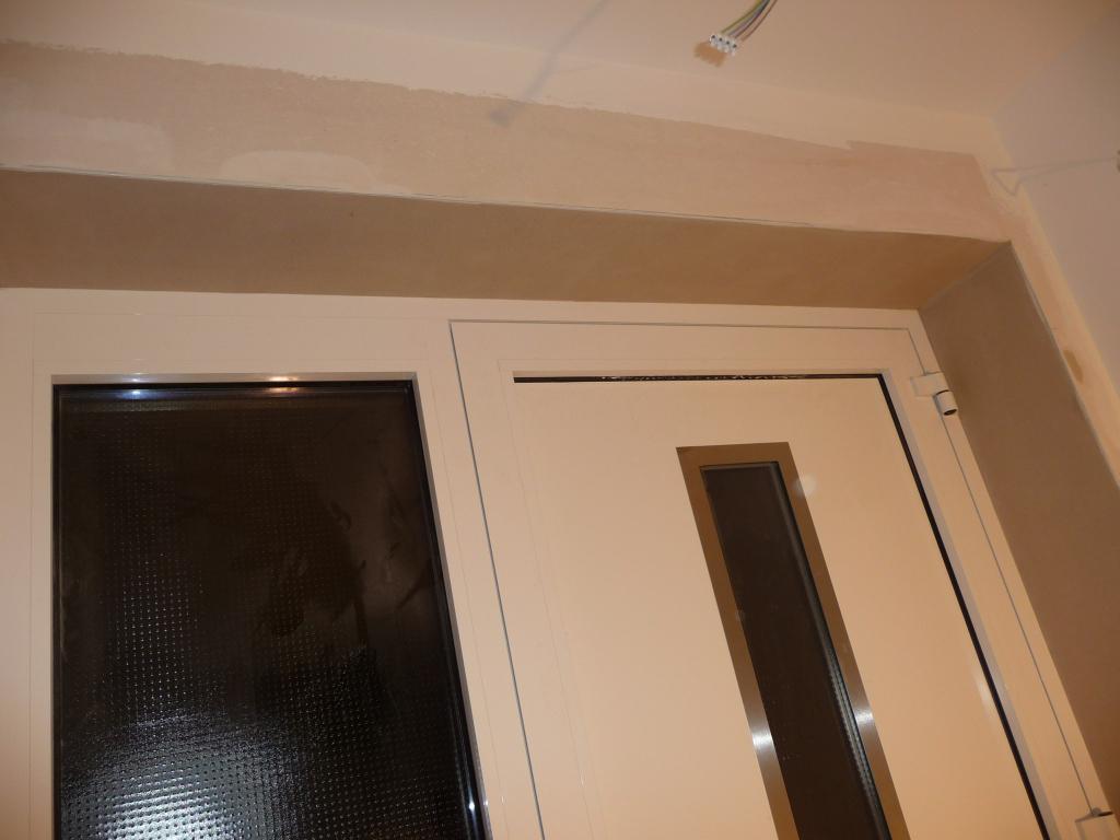 Und die Haustür wurde auch endlich eingeputzt