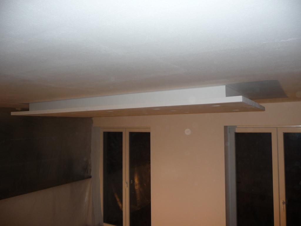 Trockenbaukonstruktionen im Wohn- und Essbereich