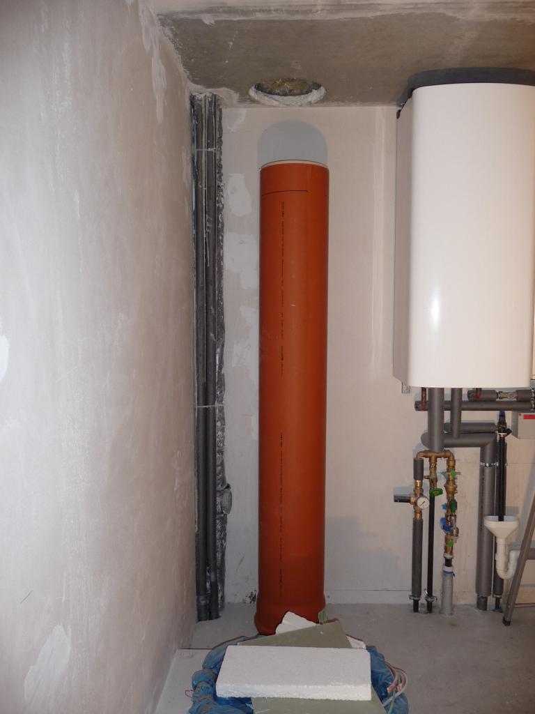 Wäscheschacht planen (300er KG-Rohr)