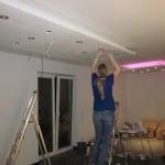 Lampen montieren