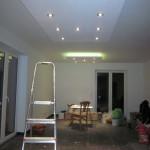 Coole Deckenbeleuchtung im Wohn- und Essbereich