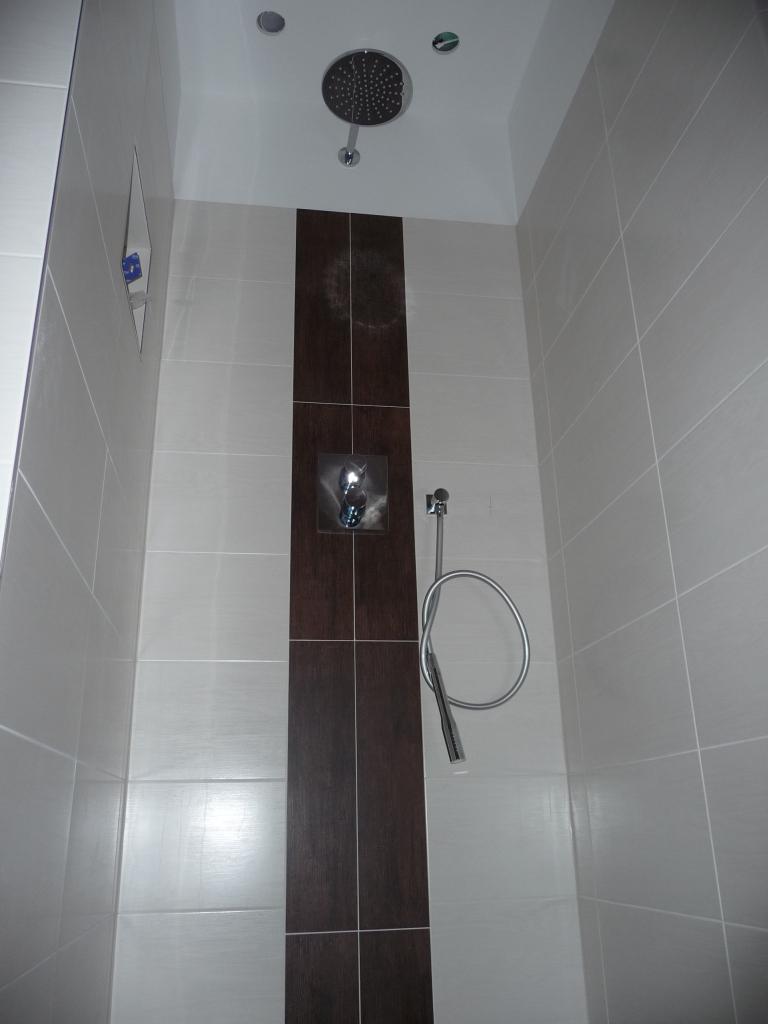 Die Dusche ist da