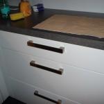 Kratzer am Griff in der Küche