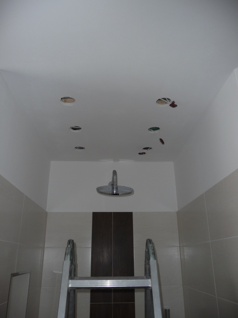 Hier werden heute die Badezimmerleuchten aktiviert