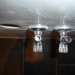 Bohrstaub in den Frischwasserzuleitungen