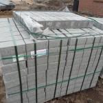 Neun Paletten Pflasterstein wurden geliefert